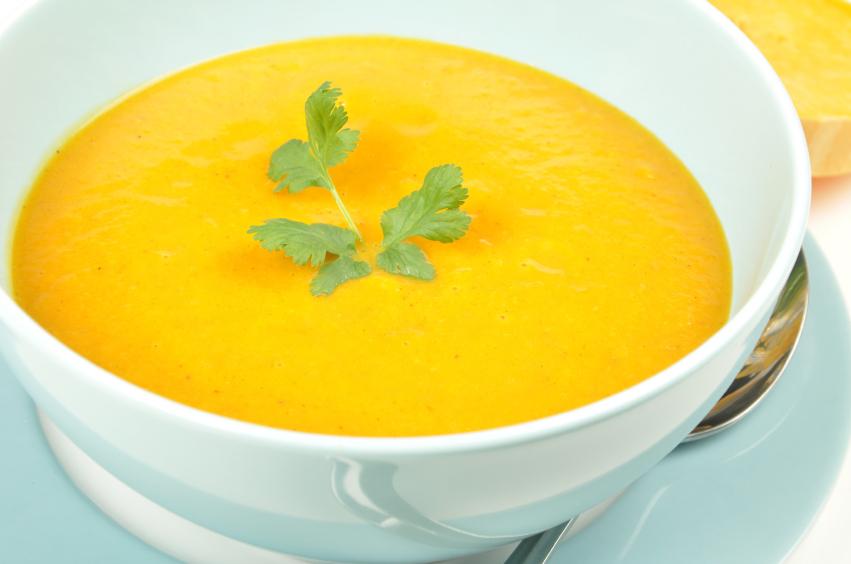 Crema de verduras con zanahorias, calabación y patatas