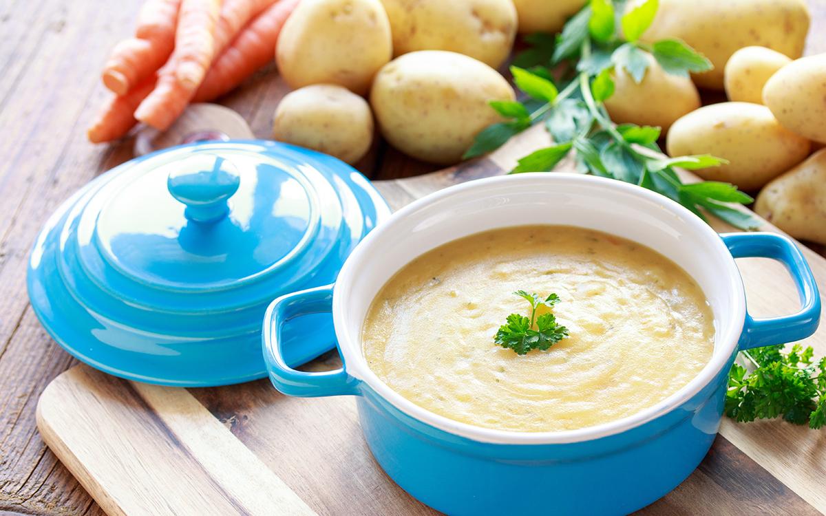 Crema de patatas