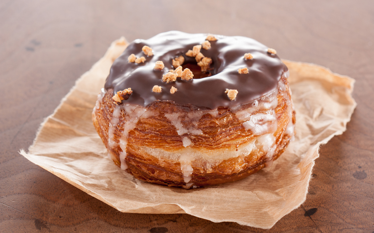 Cronut de chocolate