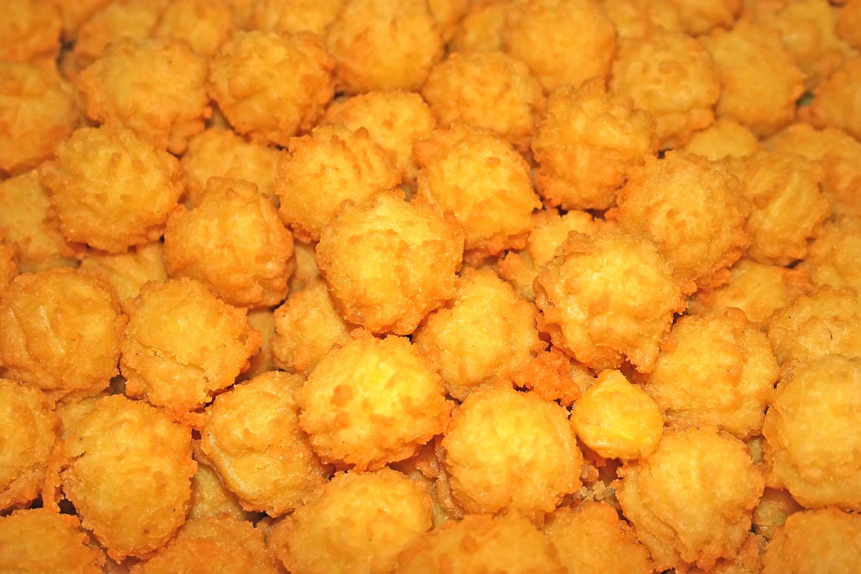 Croquetas de maíz