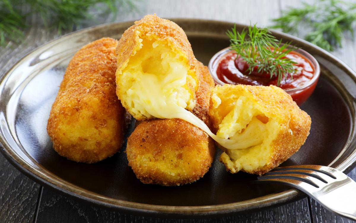 Croquetas de coliflor y queso
