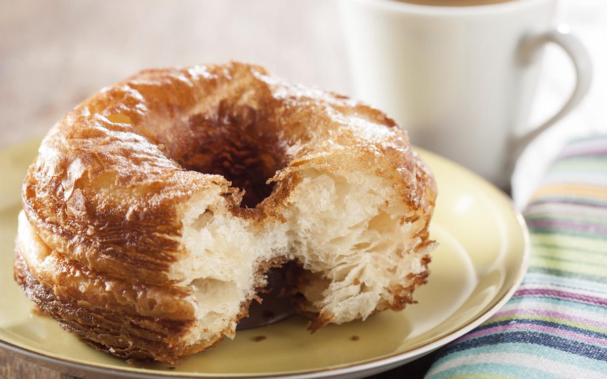 Cronut (el croasán que quiso ser rosquilla)