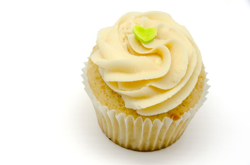 Cupcakes de vainilla con buttercream