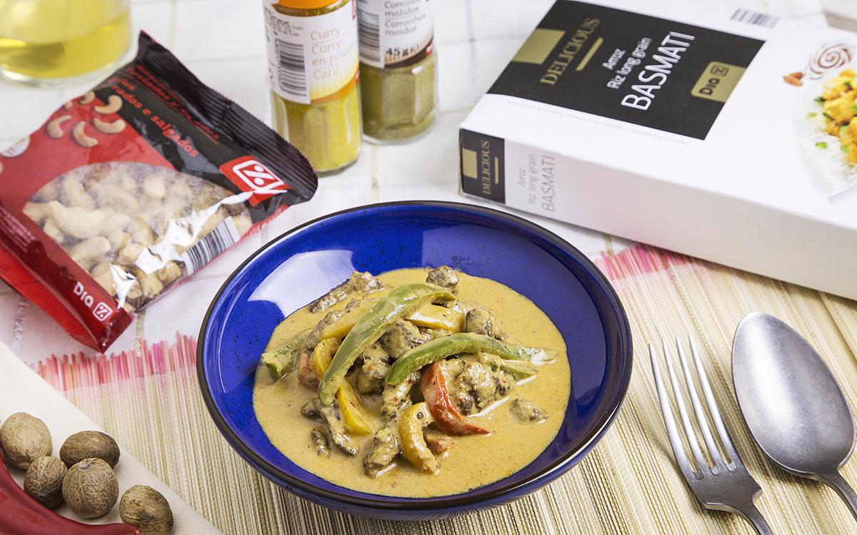 Curry rojo de ternera