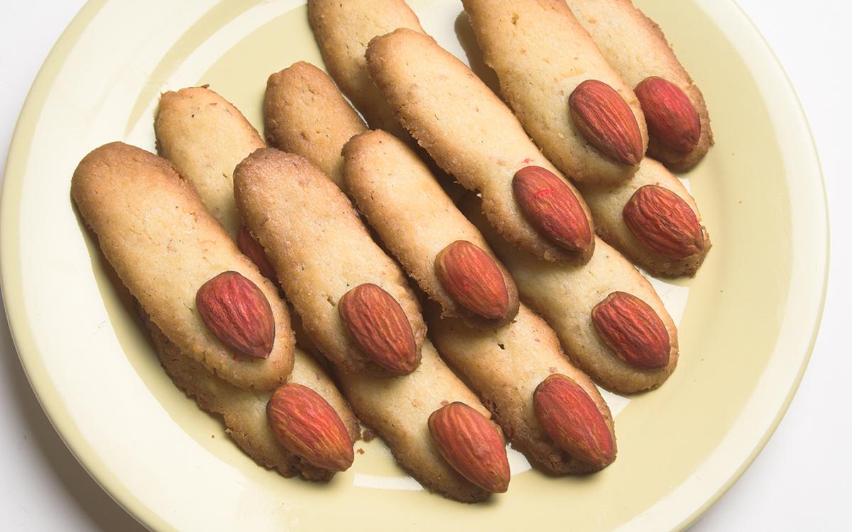 Dedos de bruja galleta