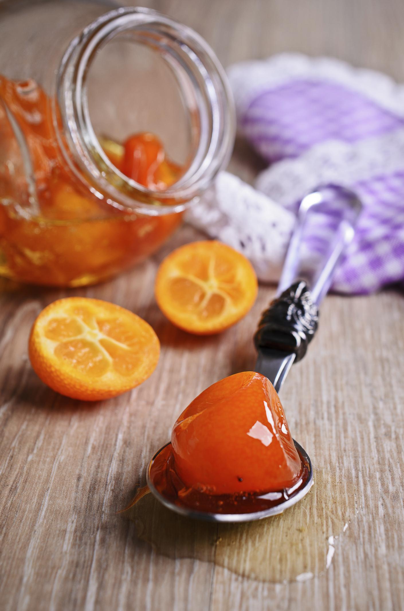 Dulce de naranjas chinas o kinotos