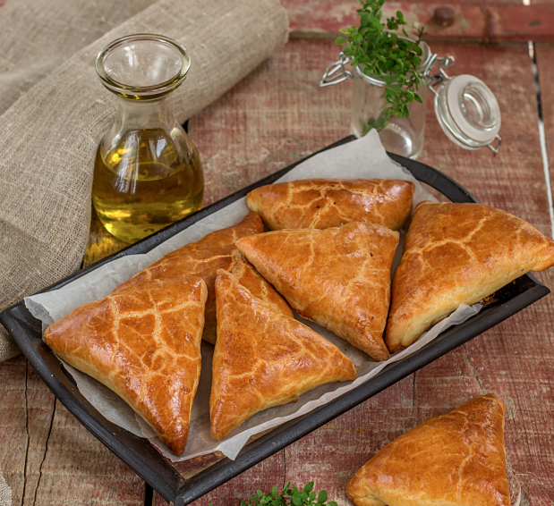 Empanadas de langostinos