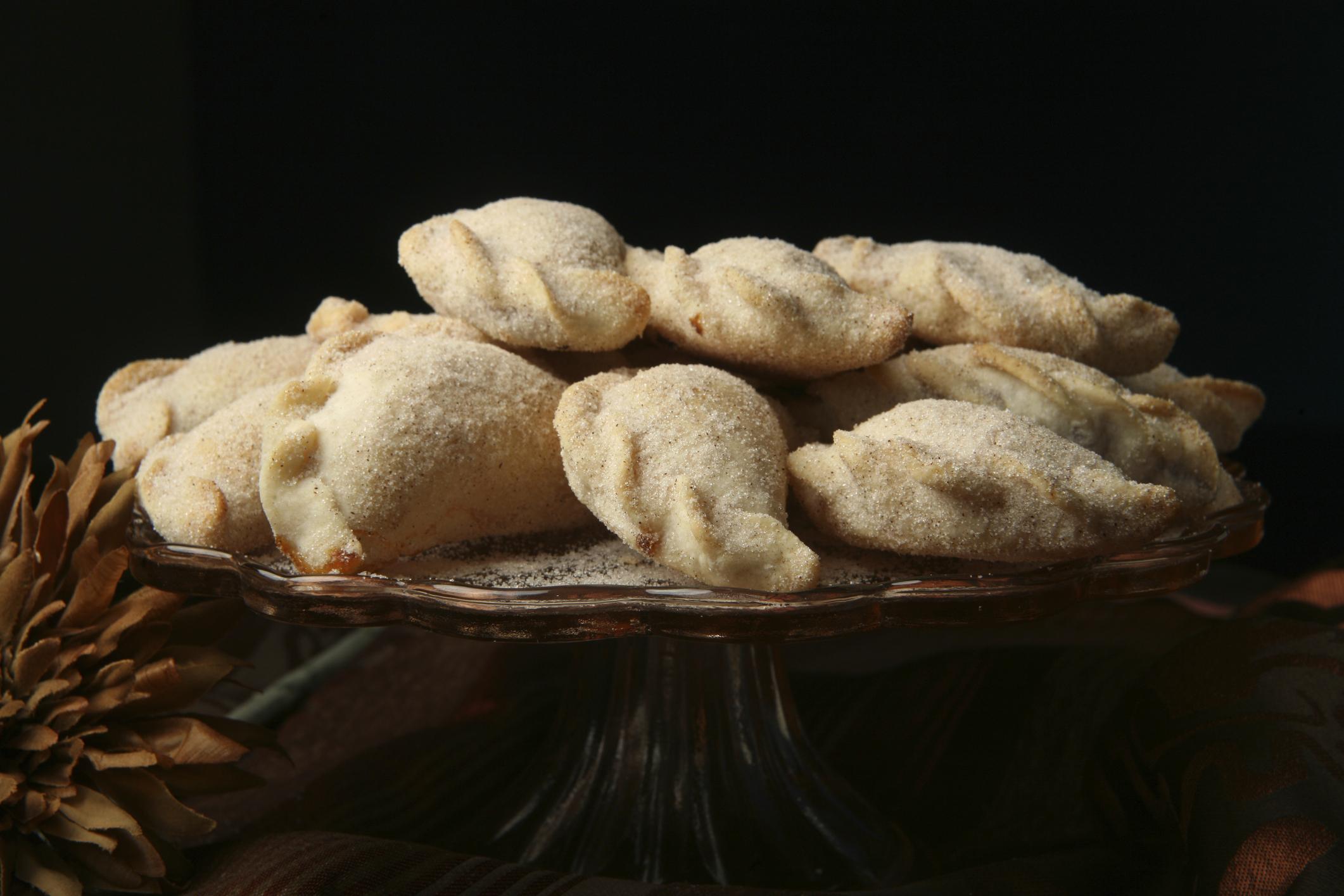 Empanadas de dulce de leche y nueces