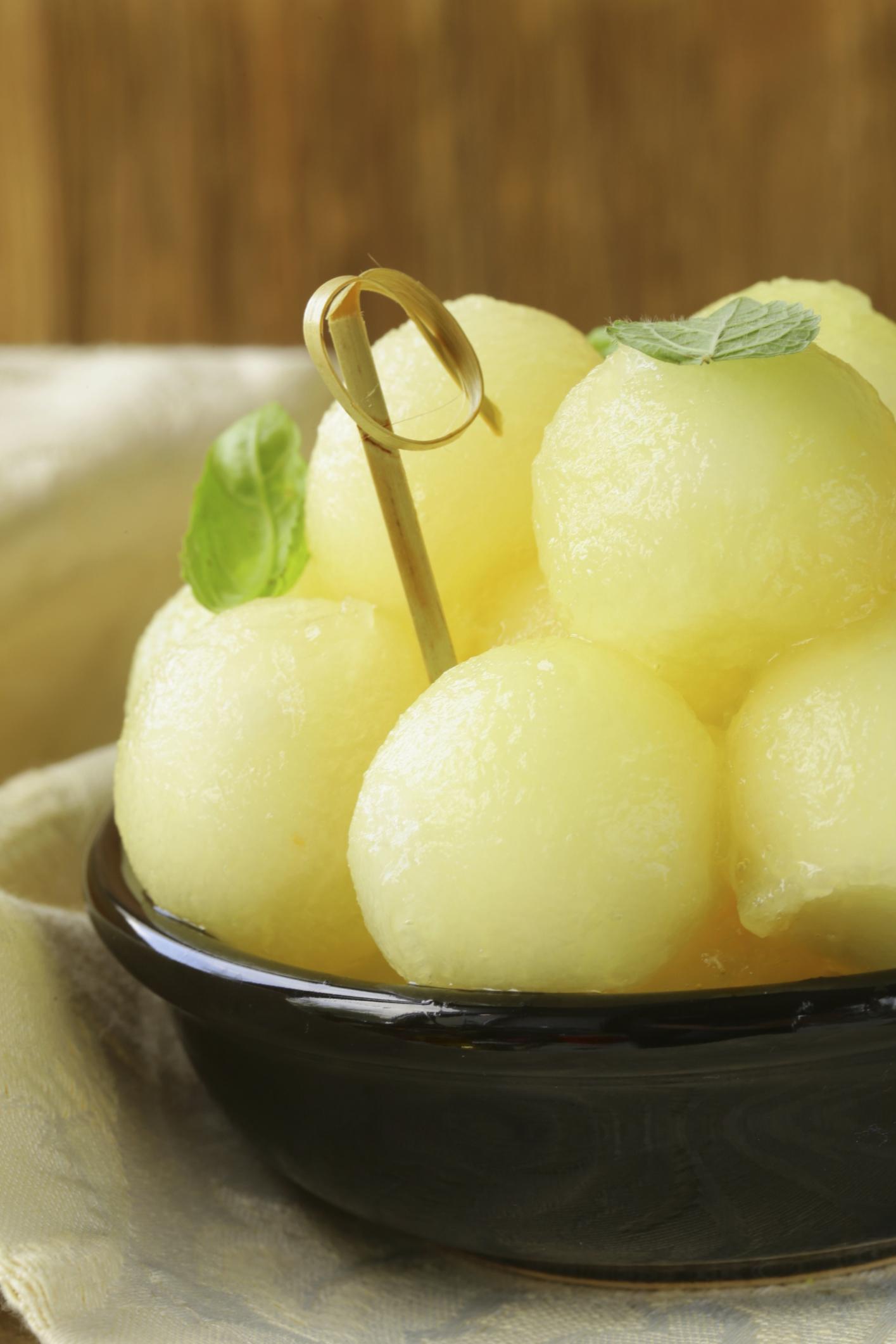 Ensalada de melón estilo marroquí