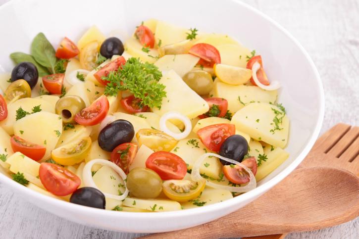 Ensalada de patata para el verano
