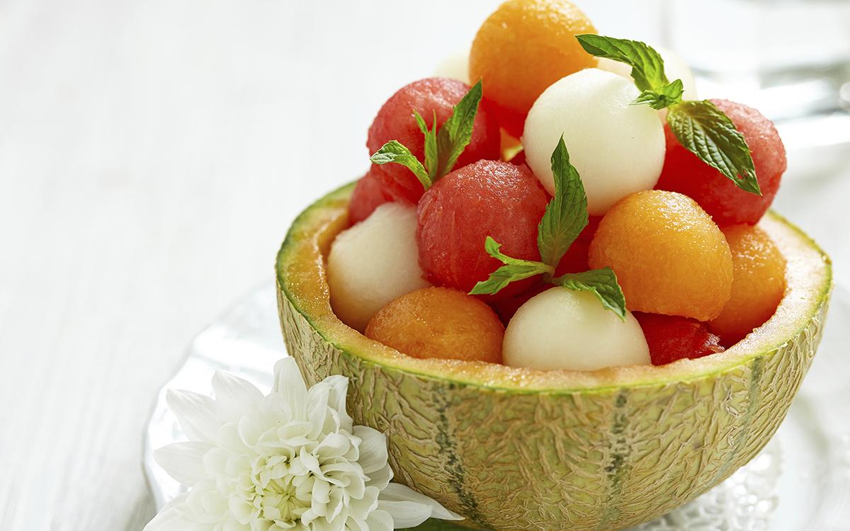 Ensalada veraniega de frutas
