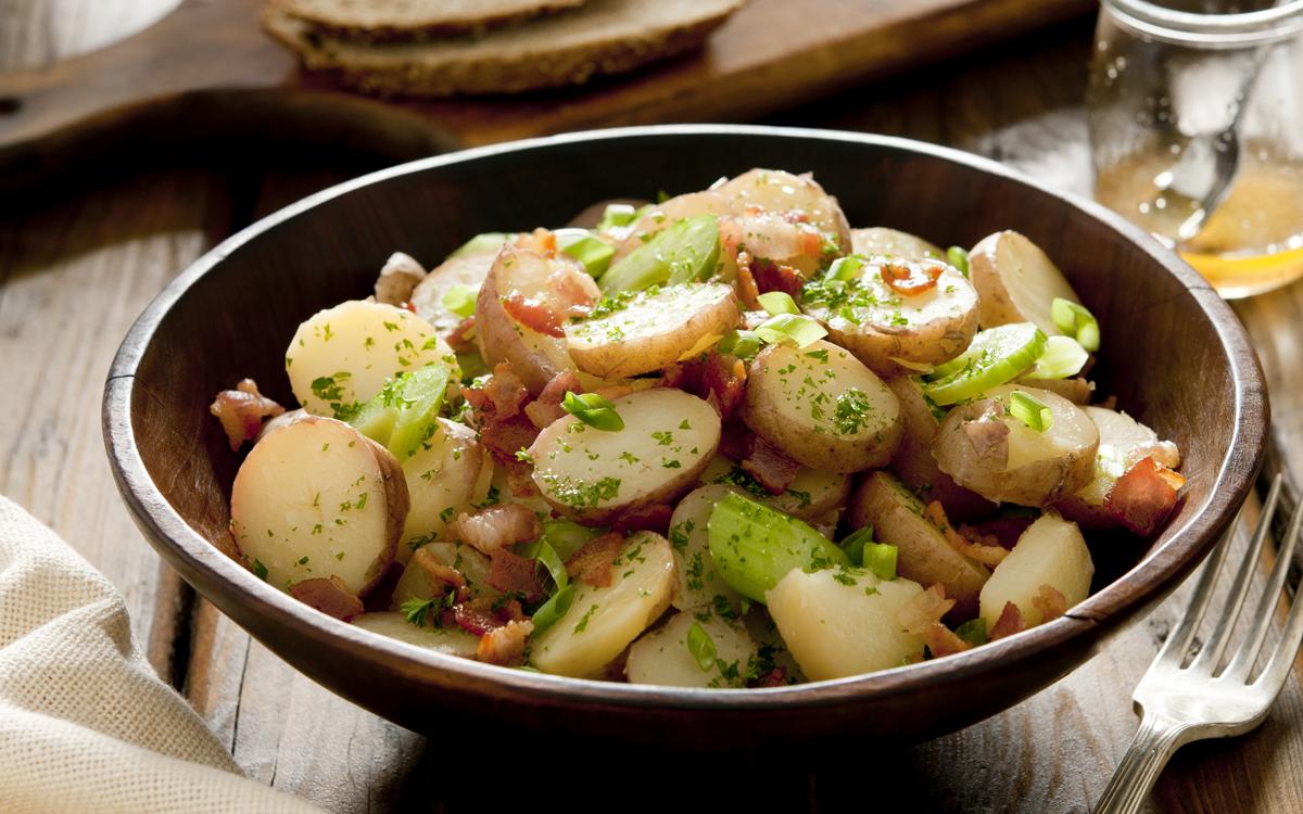 Ensalada rústica de patata