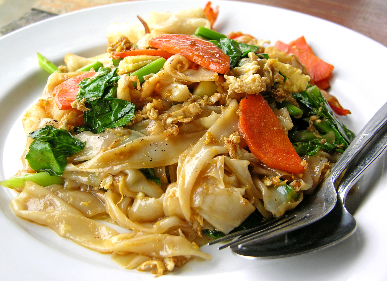 Pasta estilo thai