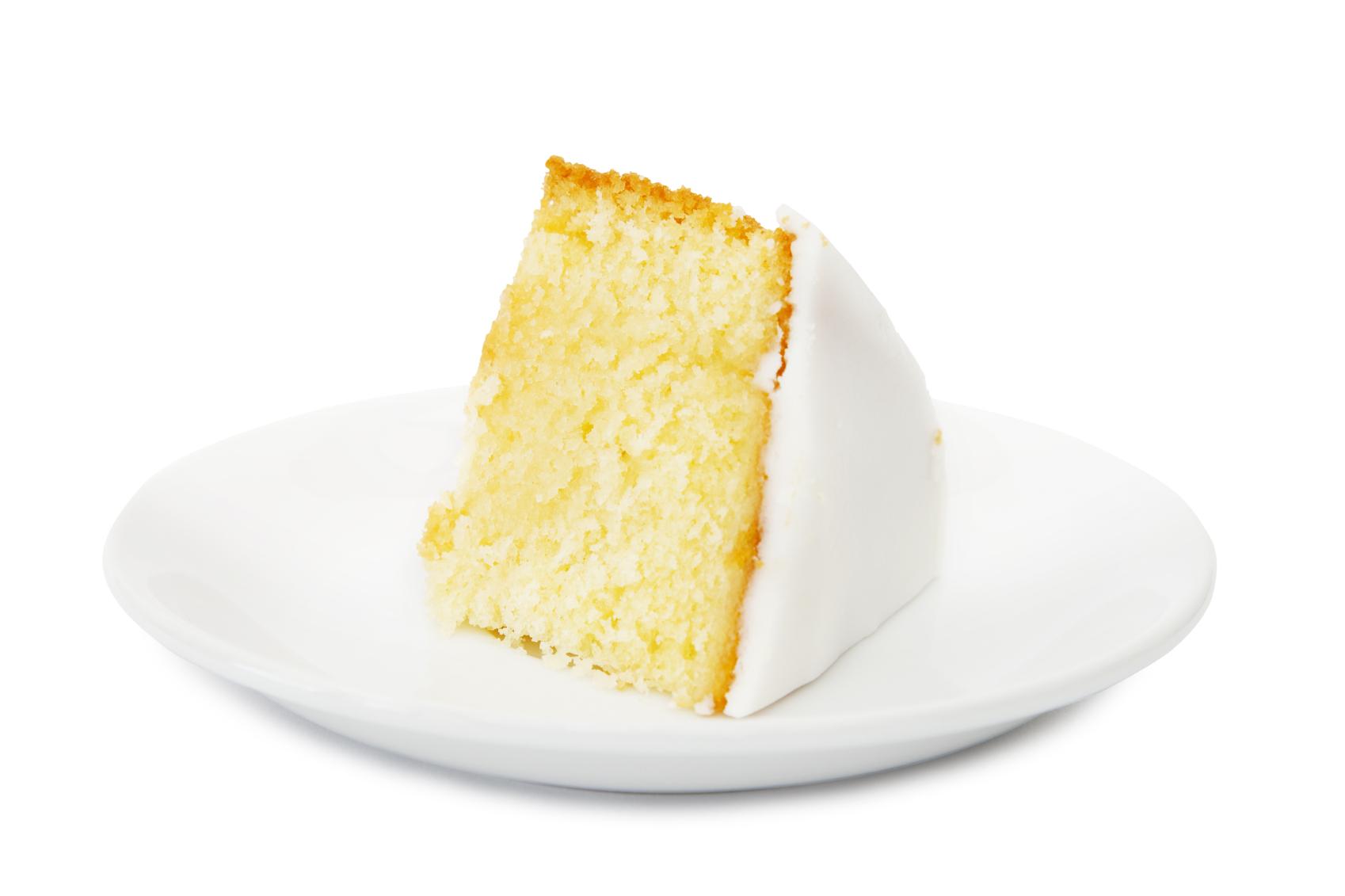 Esponjoso pastel de limón