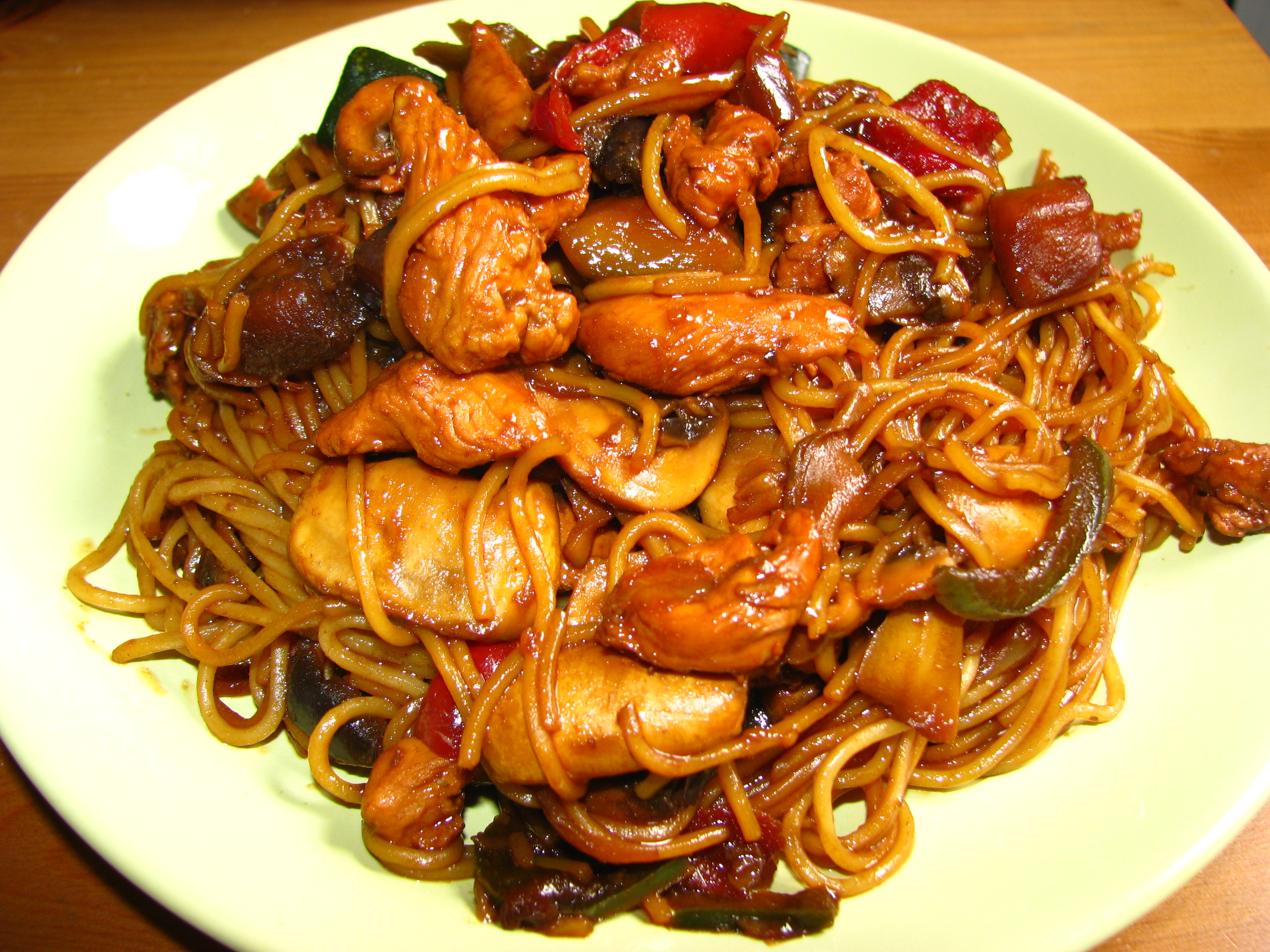 Recetas De Cocina China | Fideos Chinos Al Wok Demos La Vuelta Al Dia