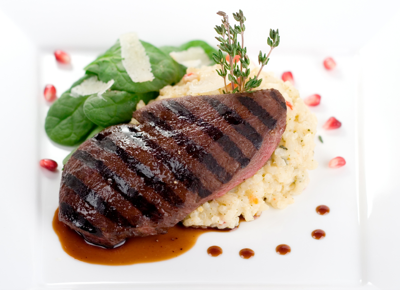 Filetes de hígado de cerdo en salsa