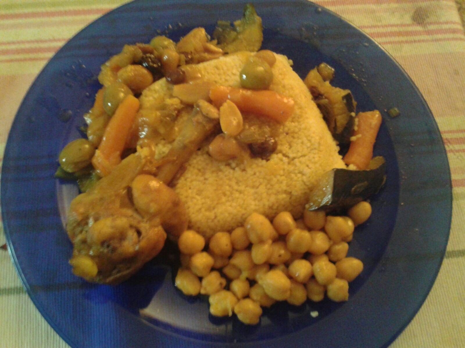 Cous Cous Con Verdura y Pollo