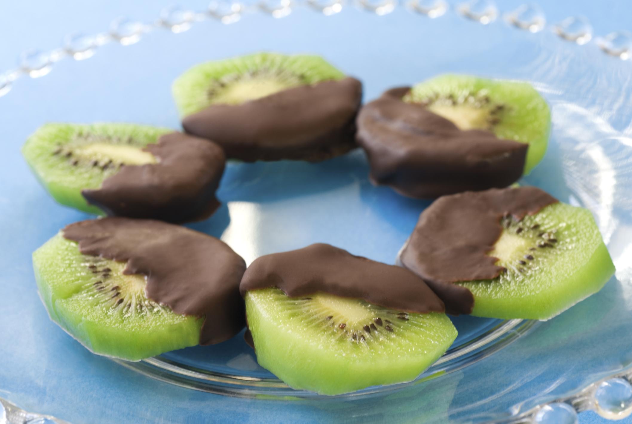 Frutas chocolatadas