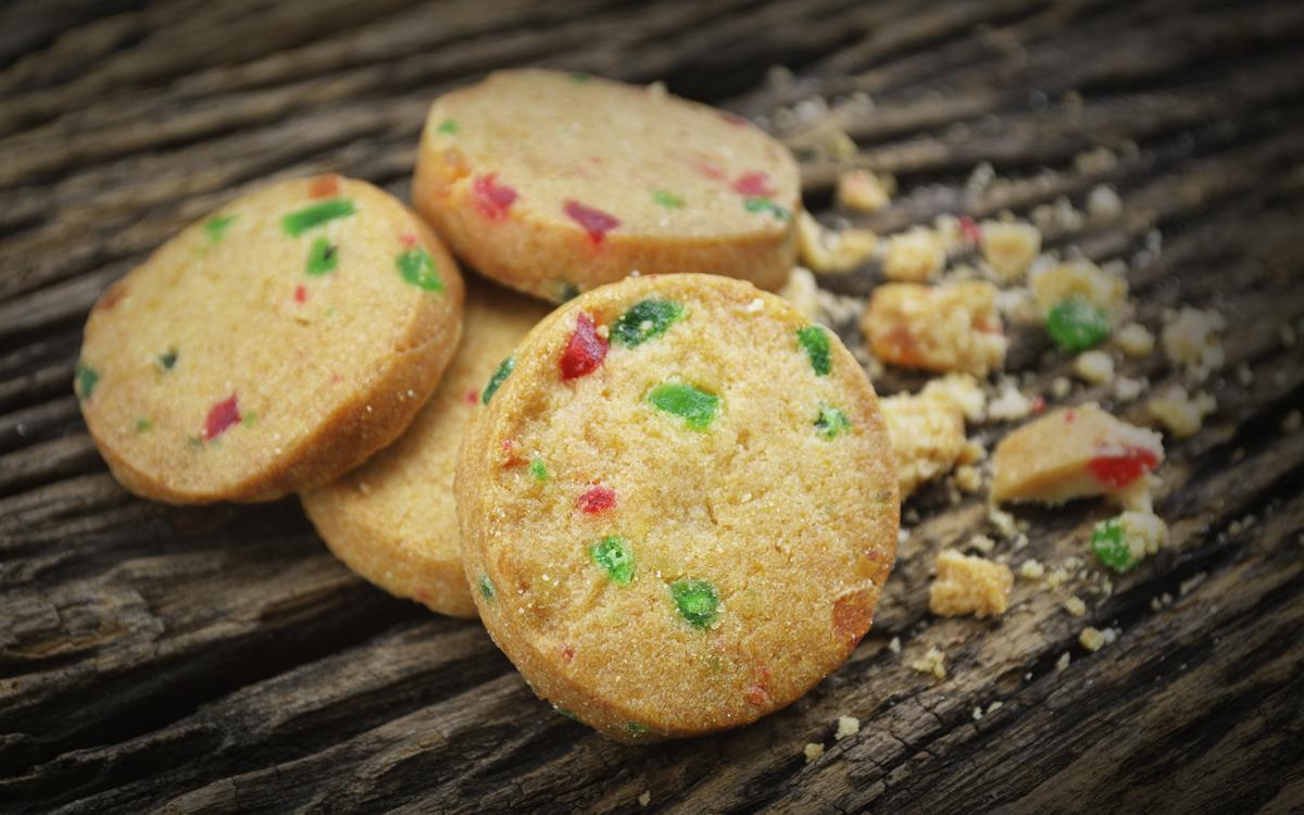 Galletas cookies con frutas