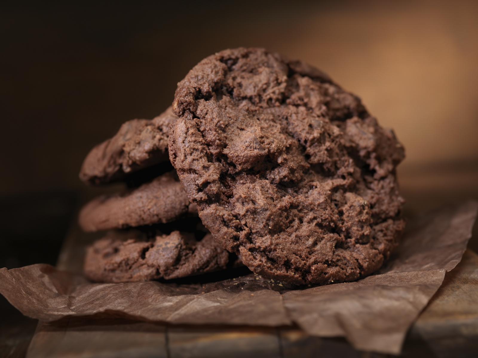Galletitas con chocolate