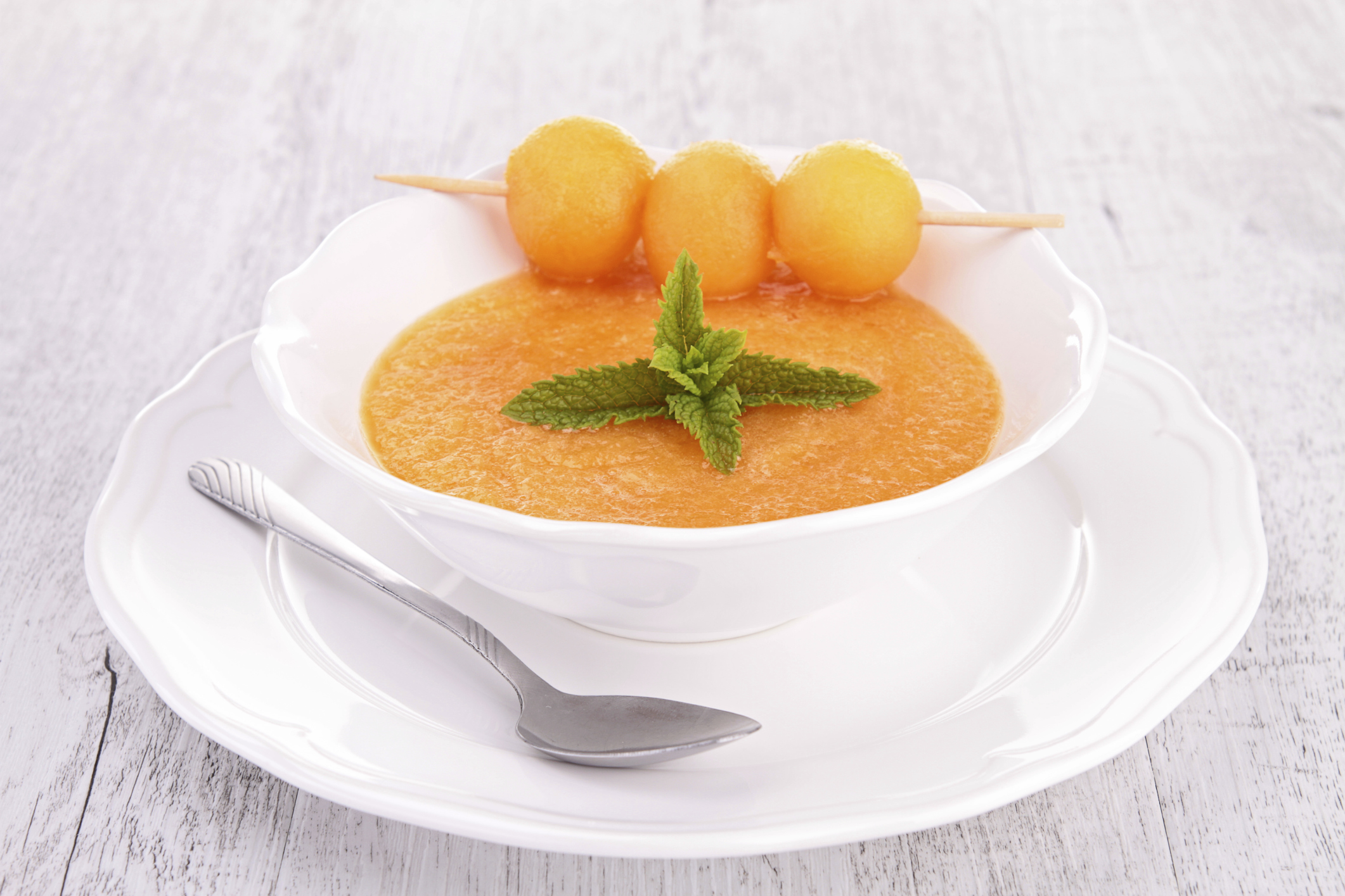 Gazpacho de frutas
