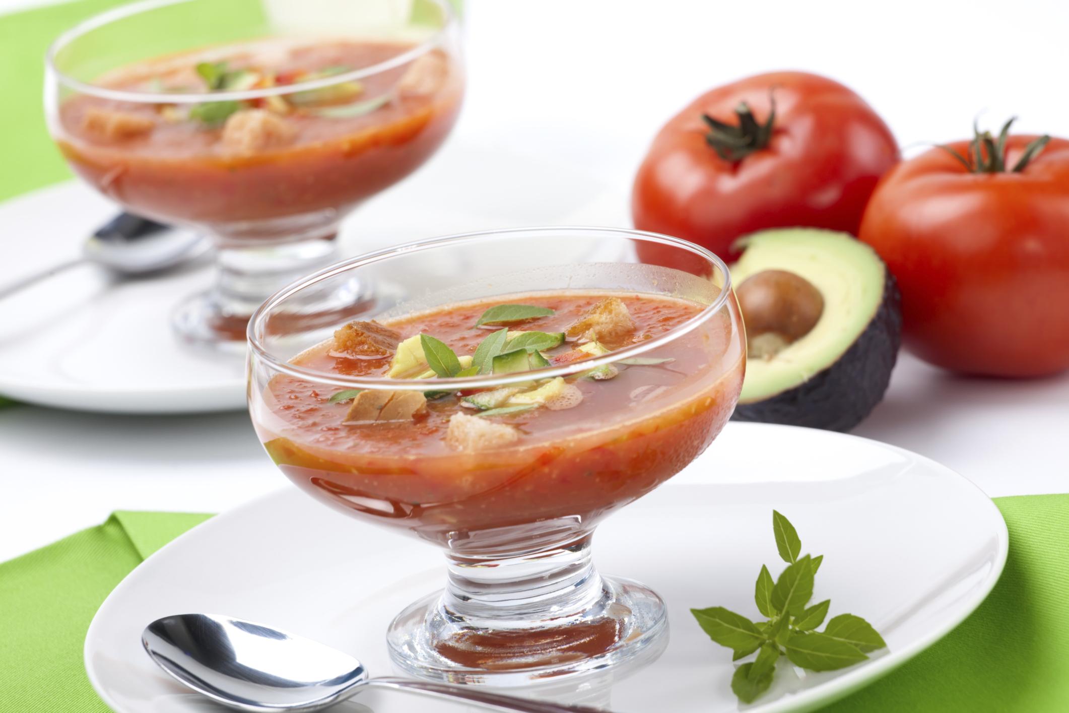 Gazpacho mexicano