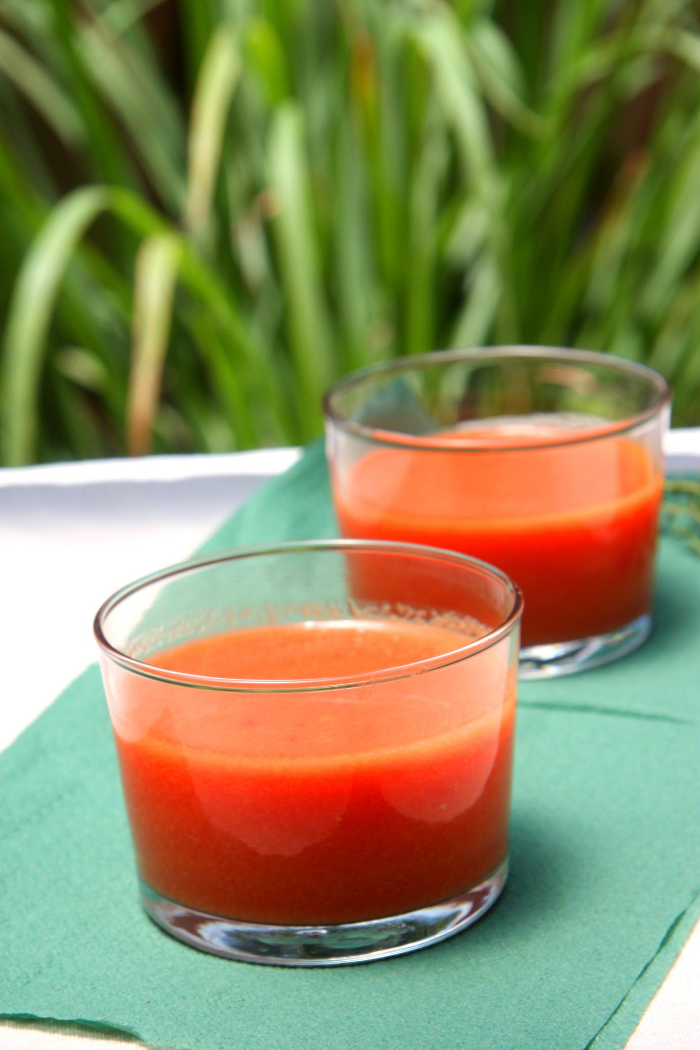 Gazpacho de sandía - receta usuario