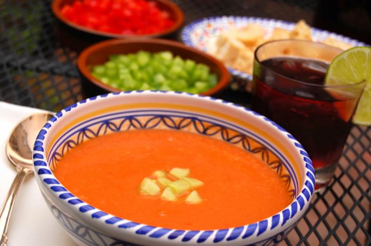Gazpacho tradicional - receta de usuario