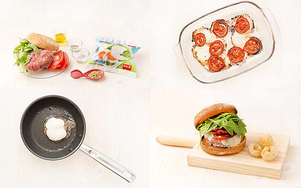 Hamburguesa Little Italy