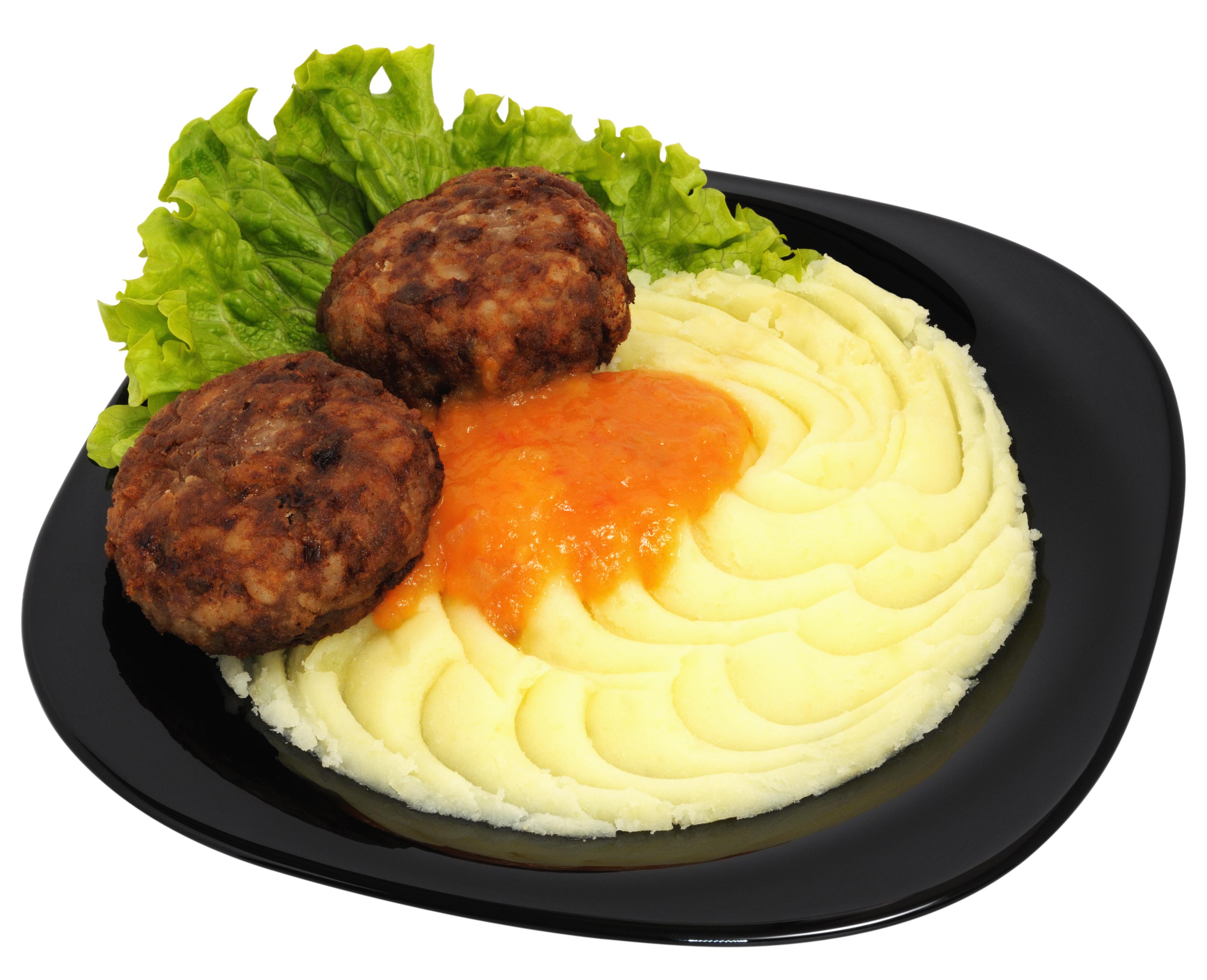 Hamburguesas puré de patatas