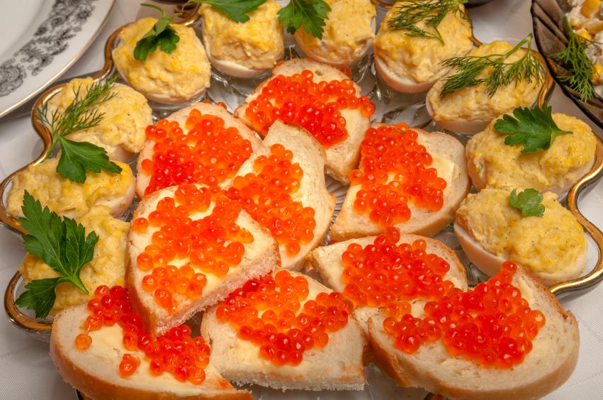 Huevos con salmón