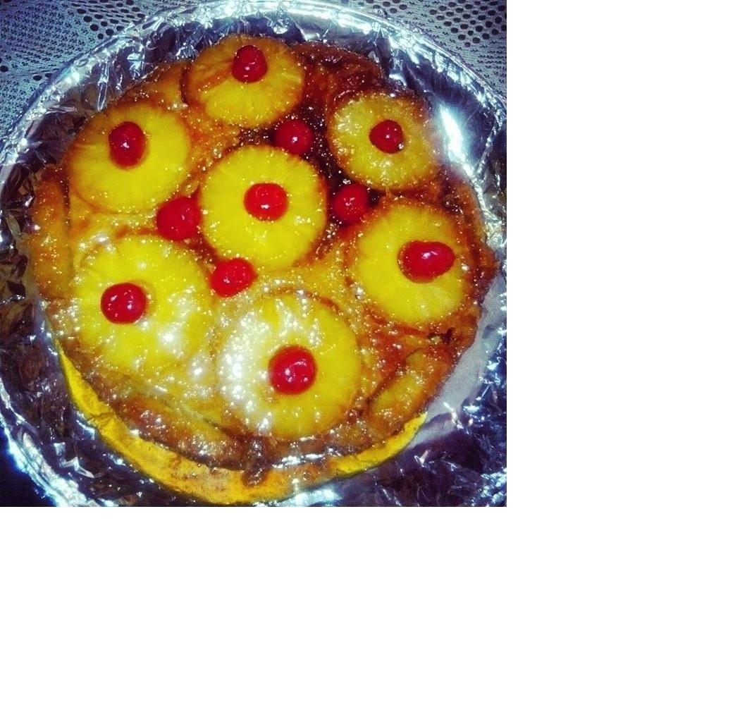 tarta de piña volteada(venezuela)