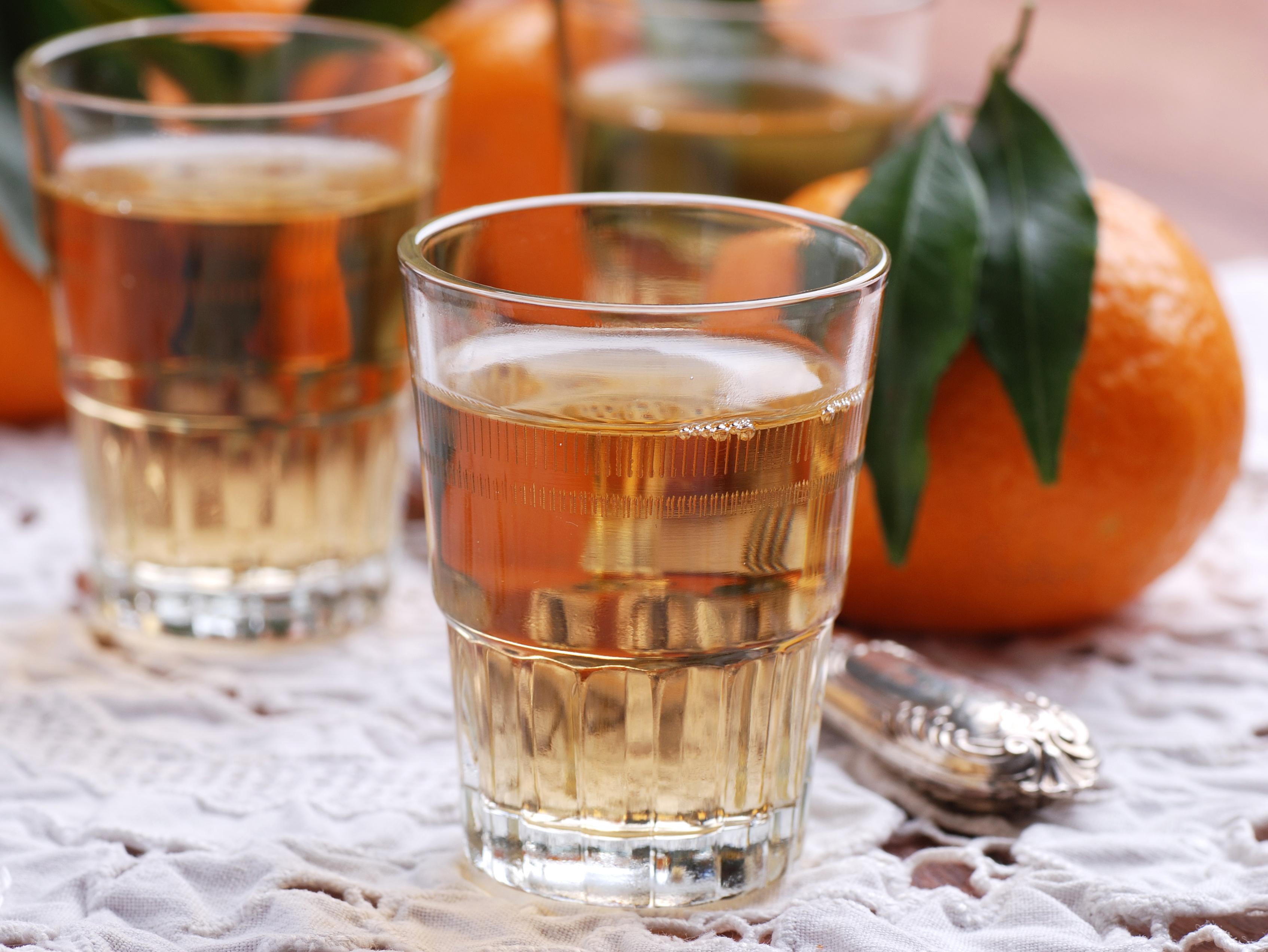 Licor de mandarinas