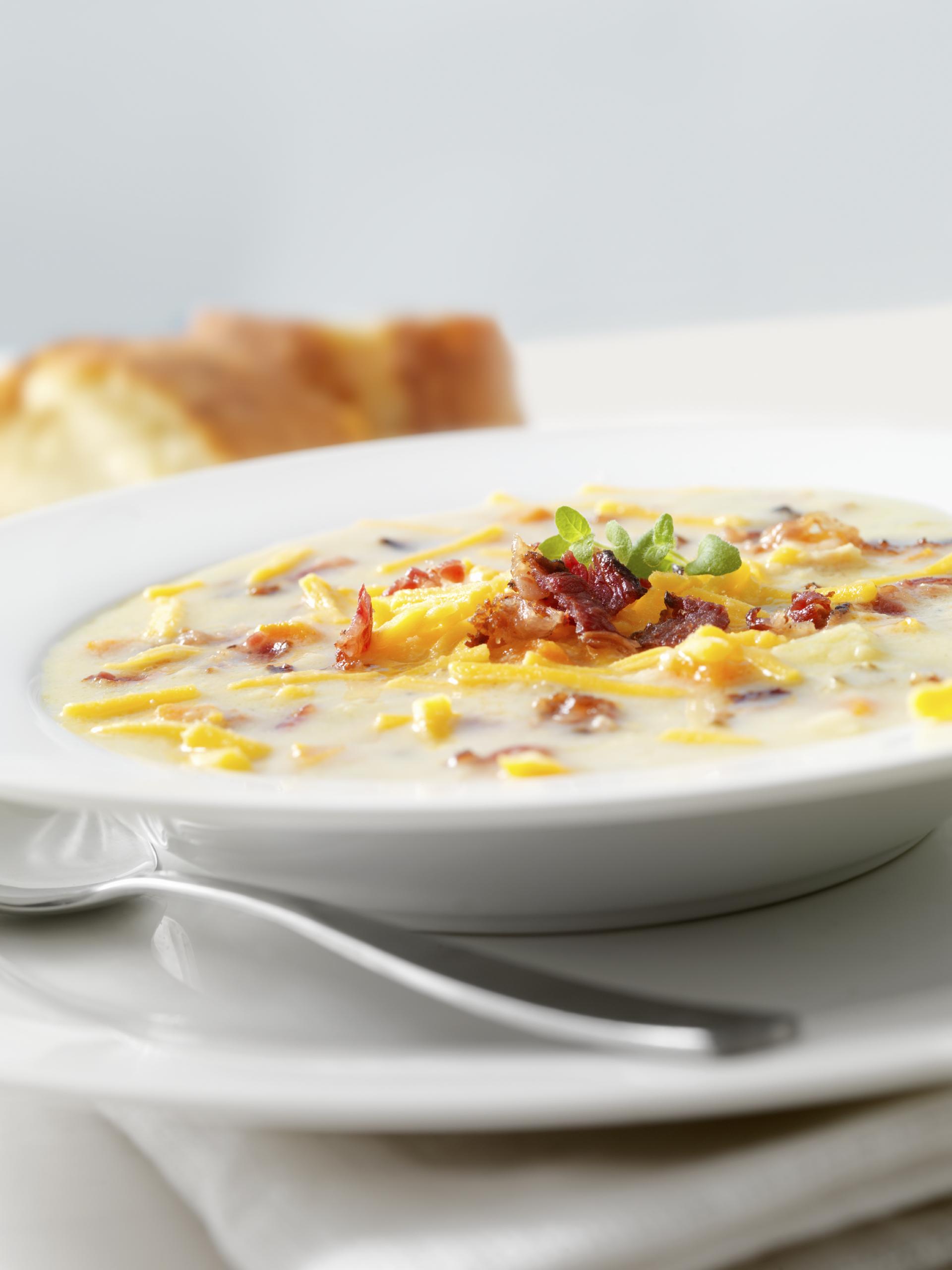 Sopa de patata y calabaza