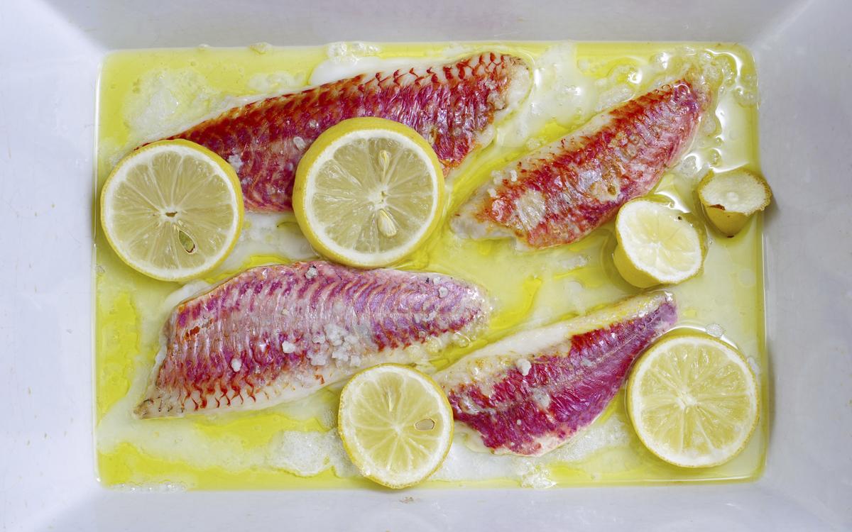 Marinado de salmonetes