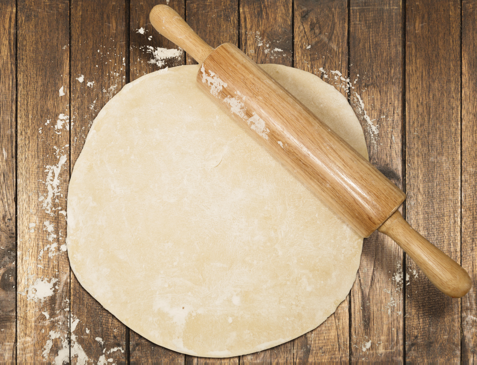 Masa baja en grasa para empanadas