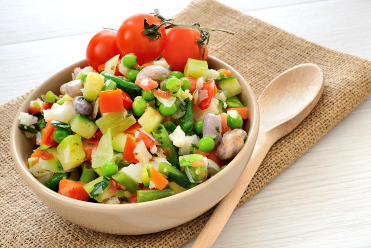 Menestra de verdura fresca