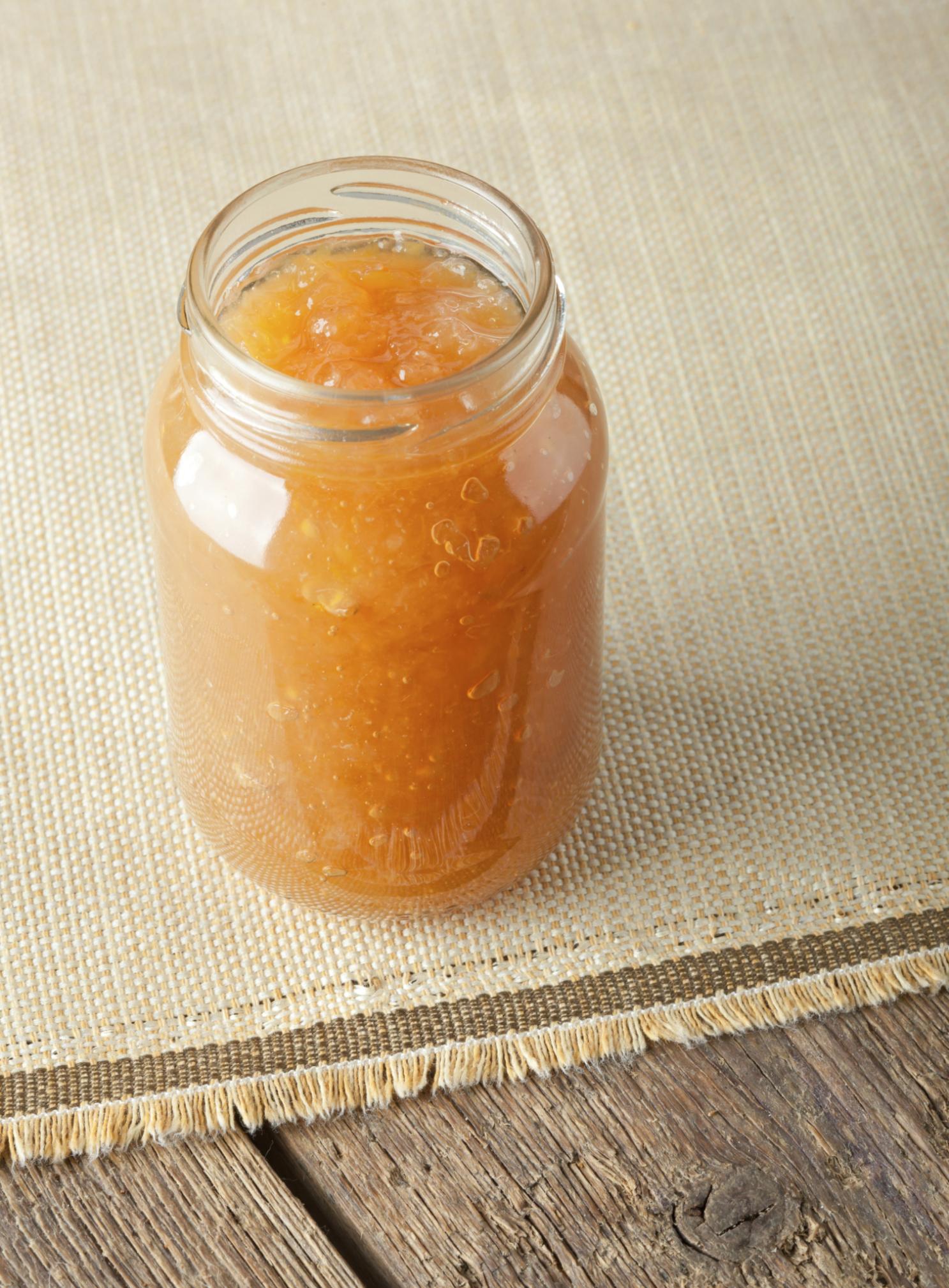 Mermelada de mandarina y platanos