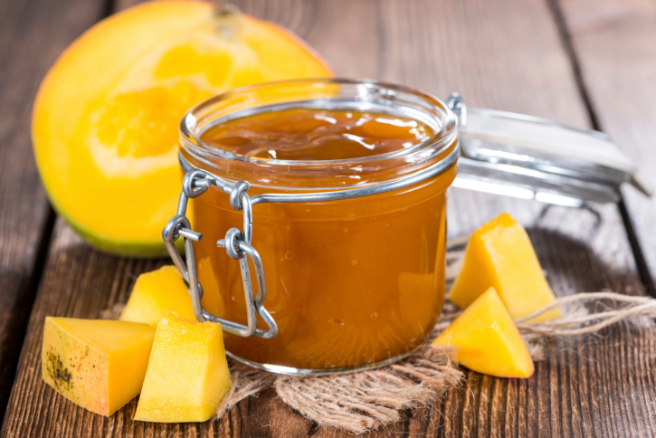 Mermelada de mango cubana