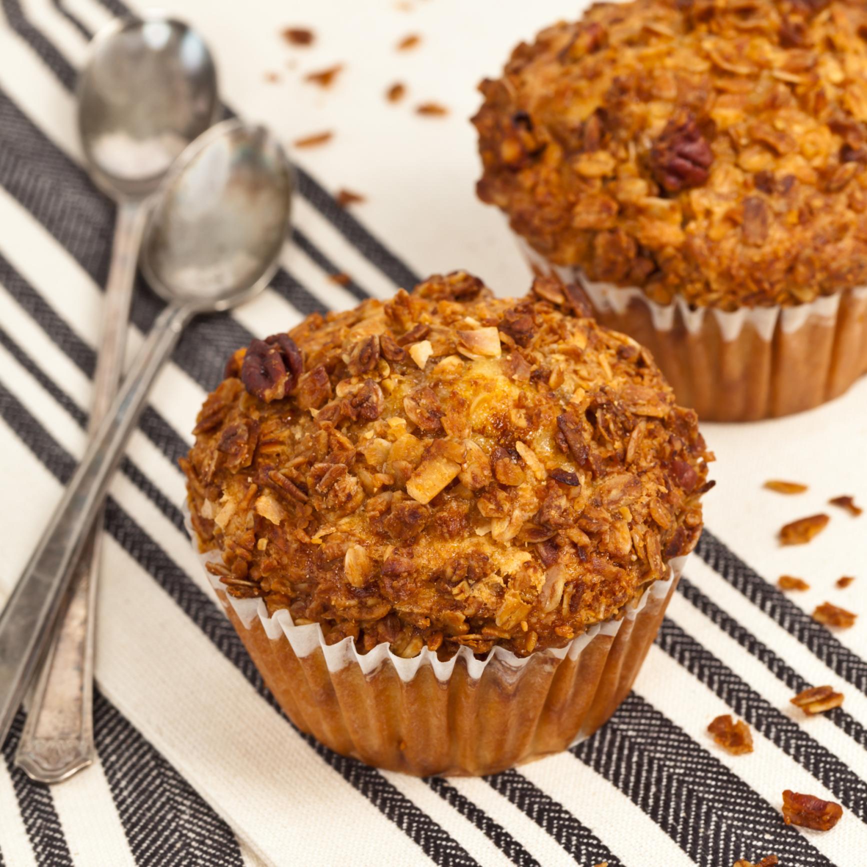 Muffin con crumble de cereales