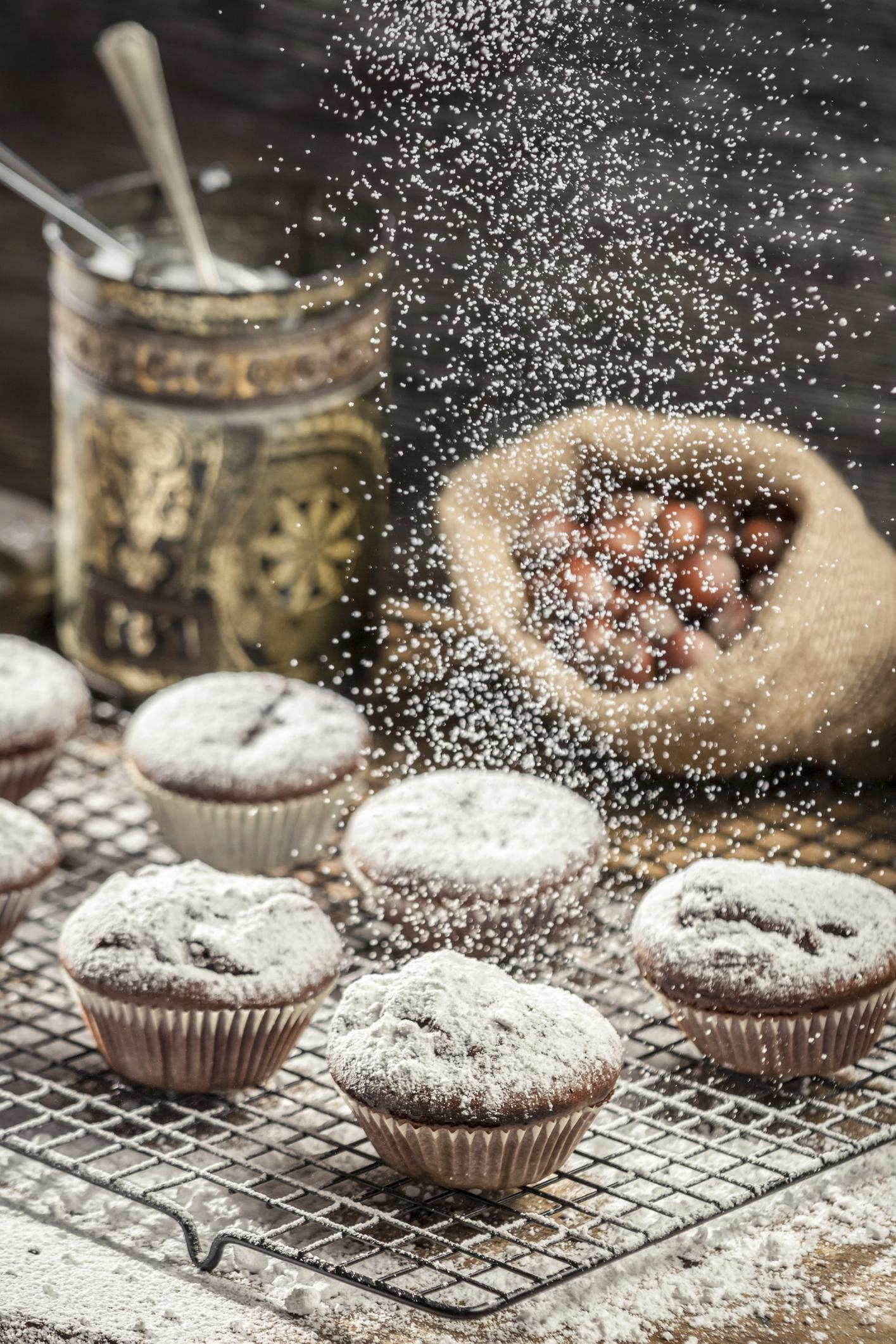 Muffins capuchinos