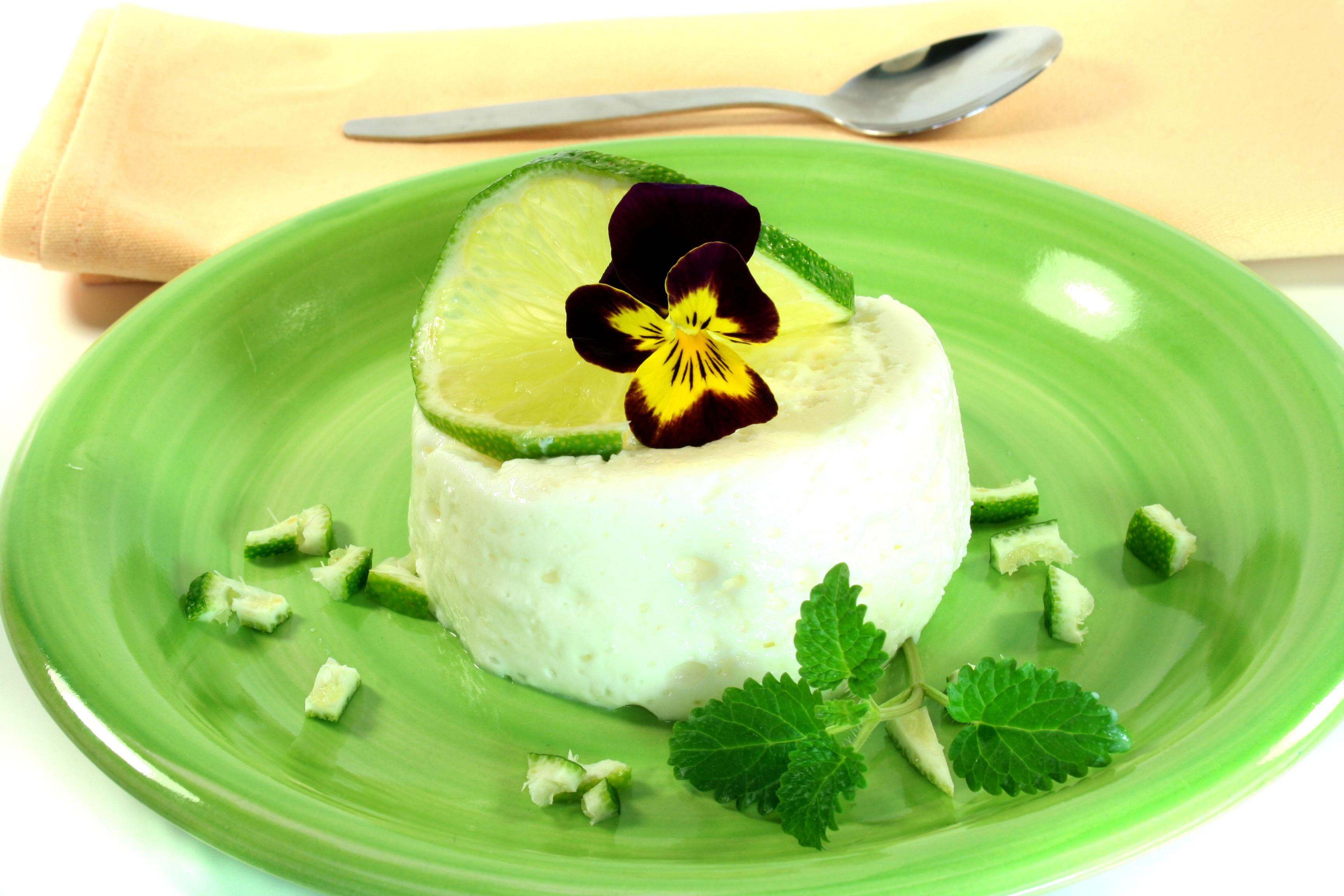 Mousse de limón con yogurt