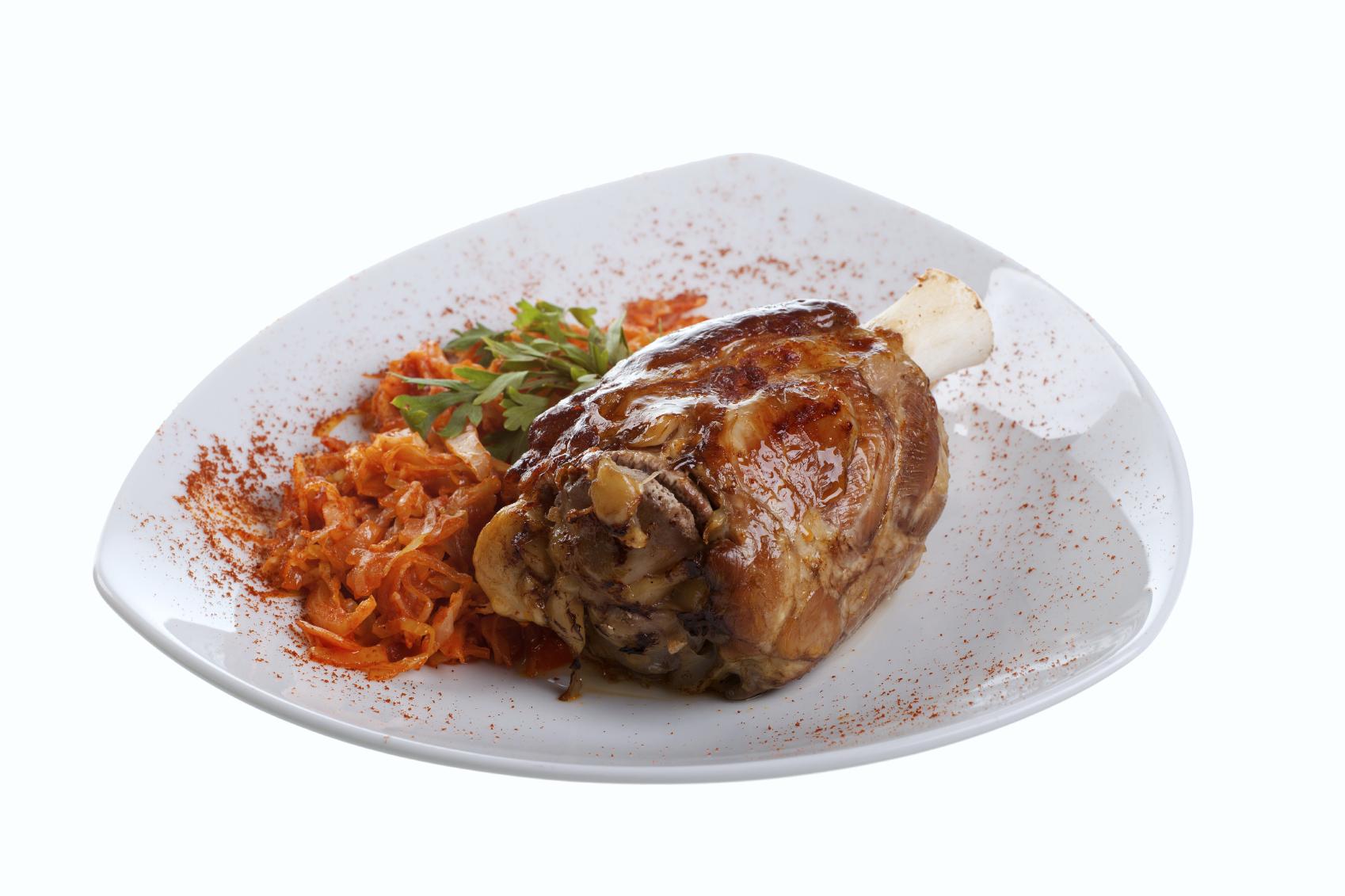 Muslo de cerdo a la sartén