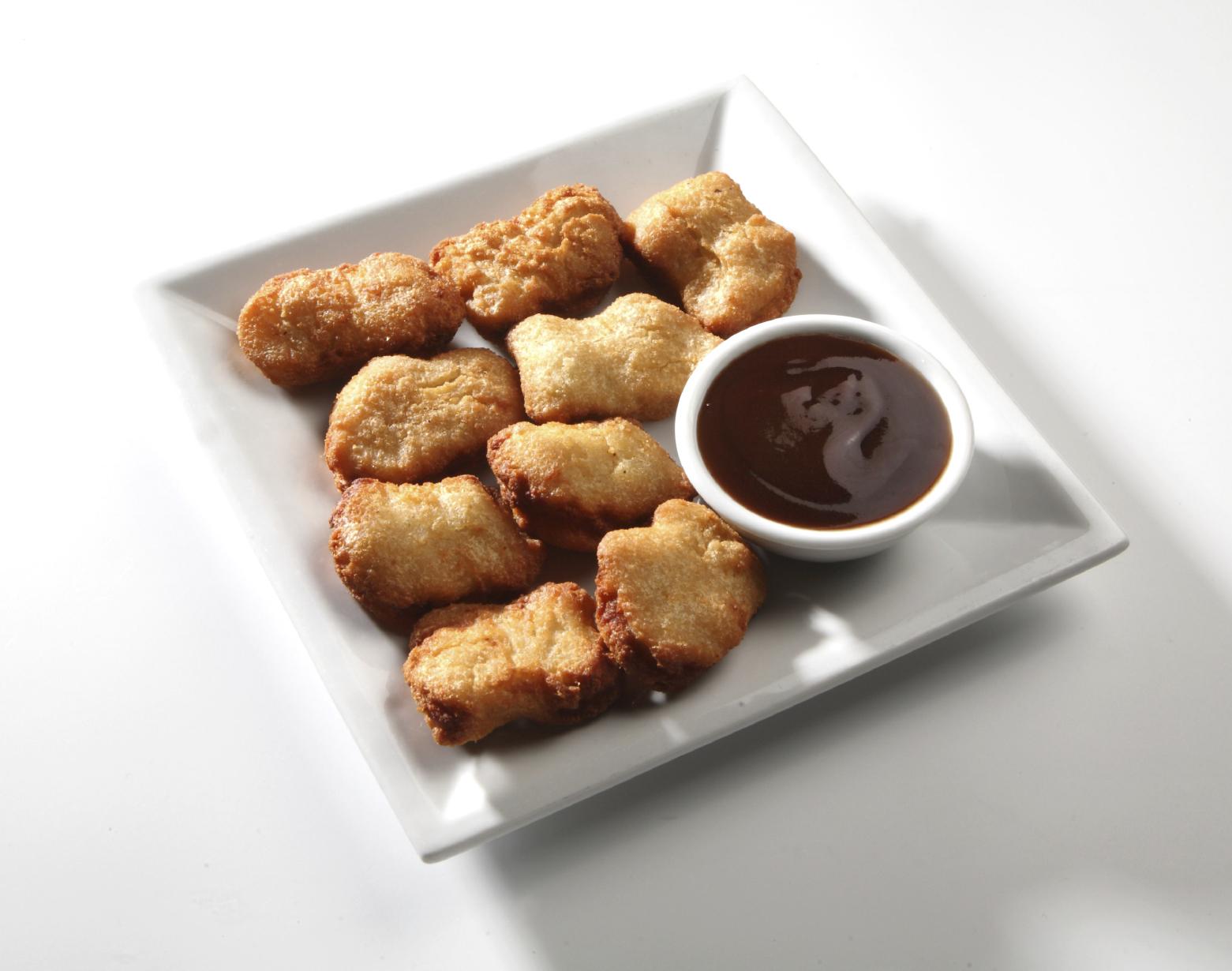 Nuggets de pollo especiados