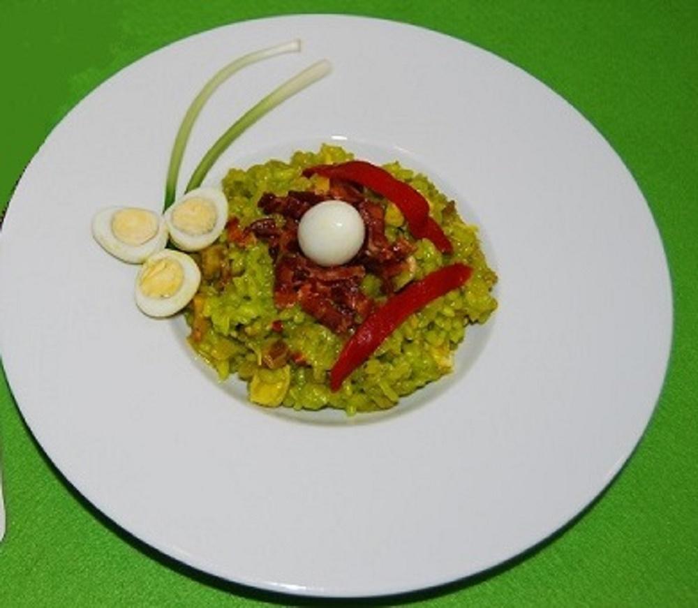 Paella campestre de carne