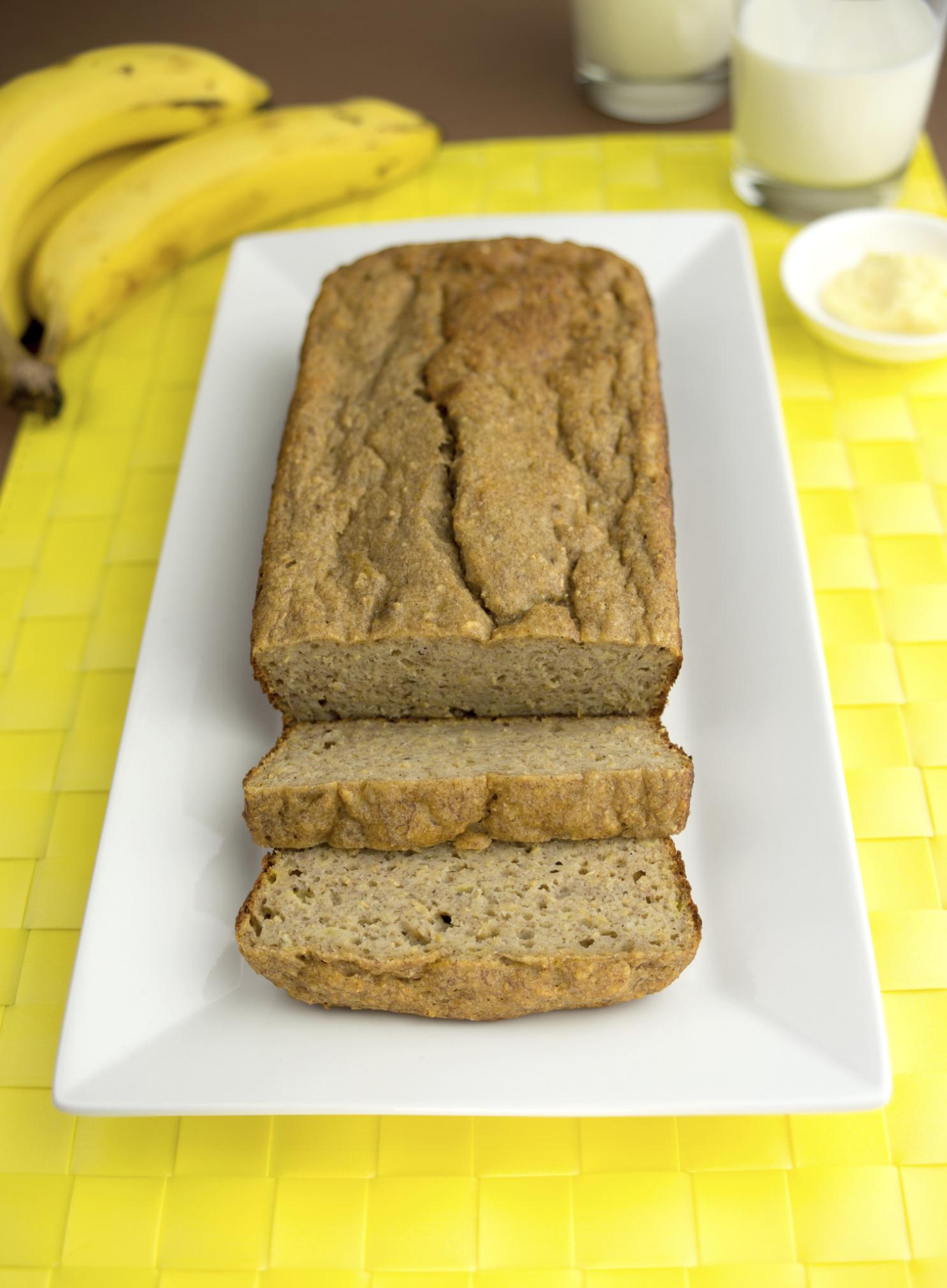 Pan de plátanos fácil