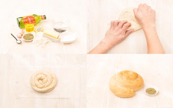 Pan de cerveza y romero