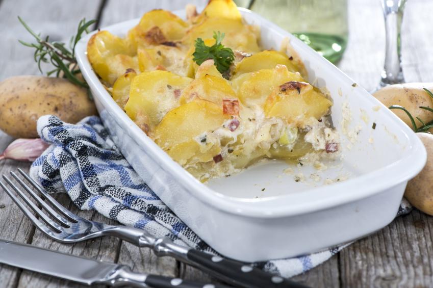 Patatas al roquefort