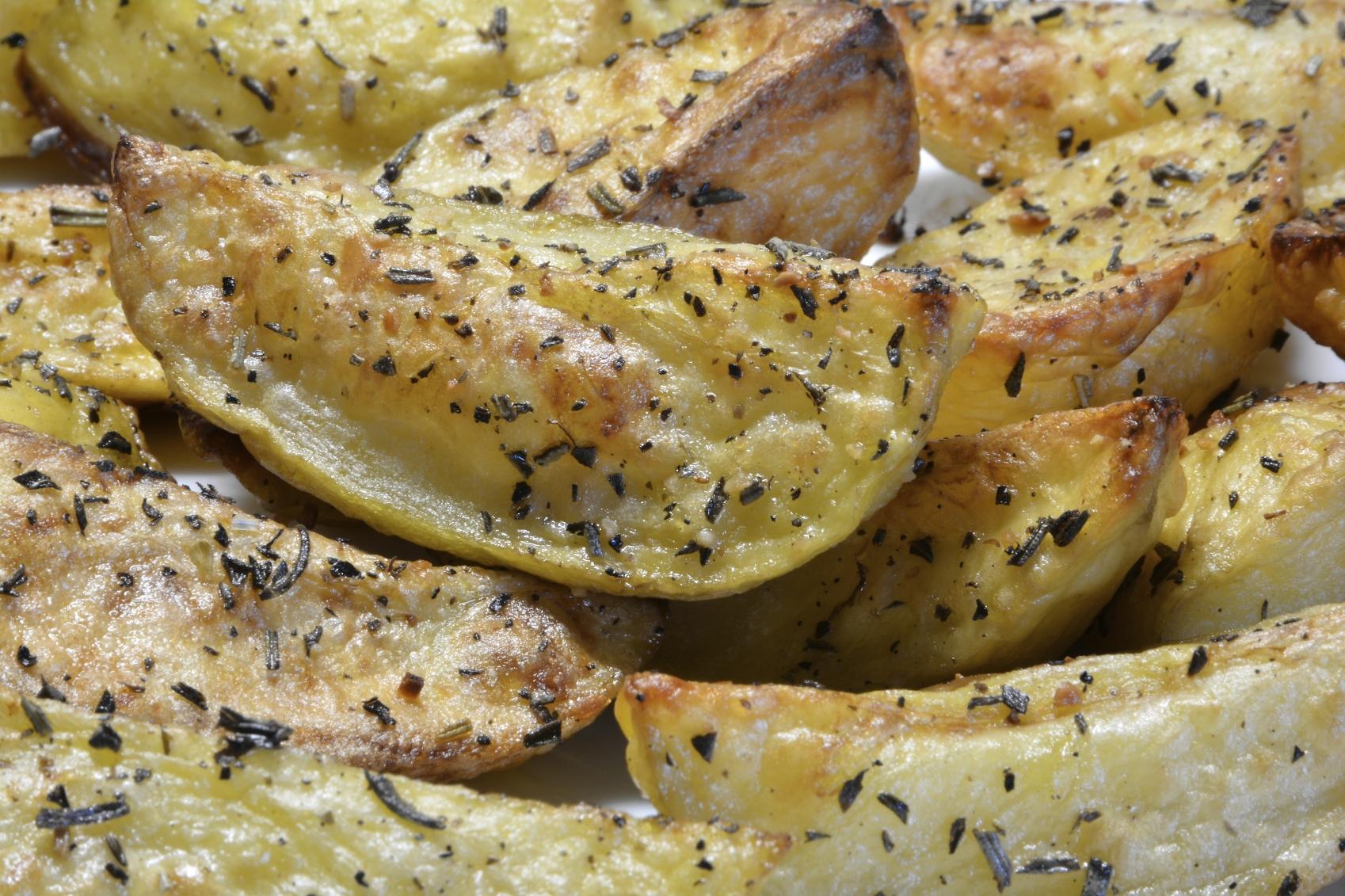 Patatas crocantes al horno