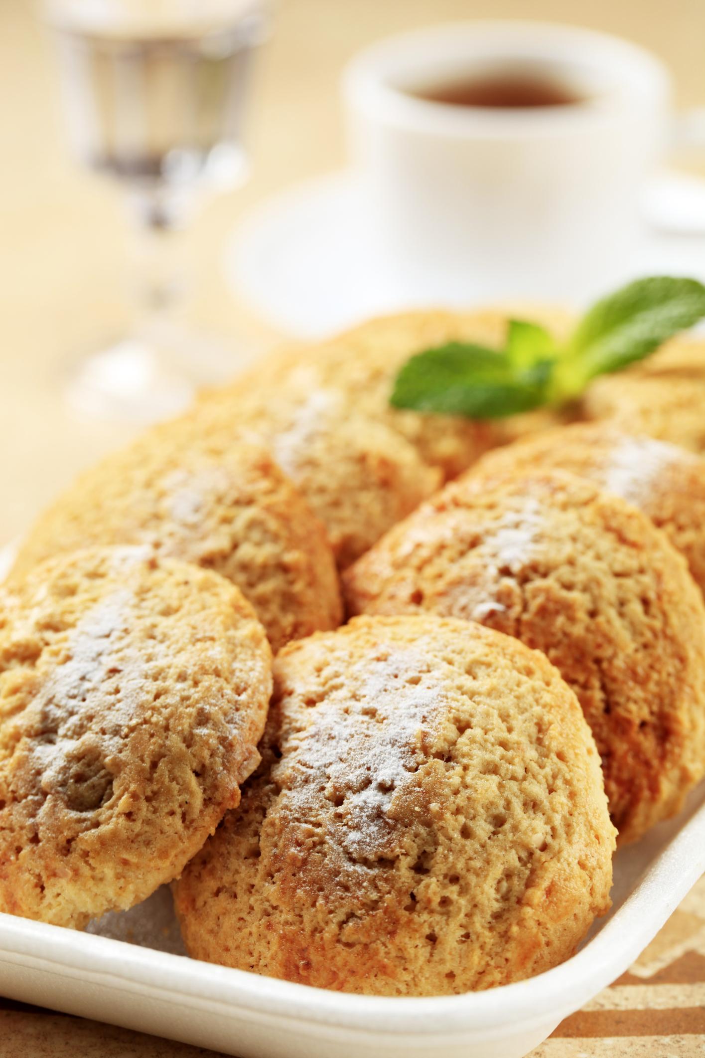 Pasta con almendras molidas